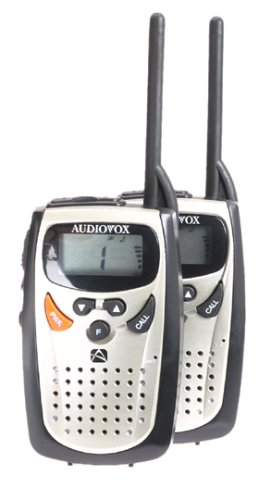 Audiovox FR530 2_Mile 14_Channel Two_Way Radios _Pair_ by Audiovox