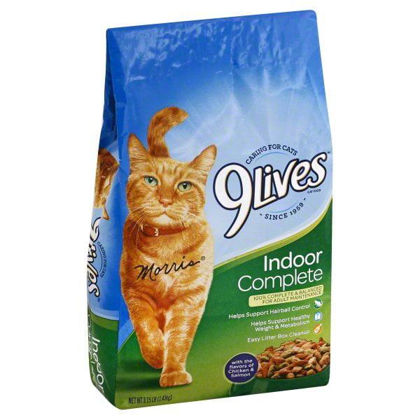 9Lives Indoor Complete Dry Cat Food, 3.15 lb