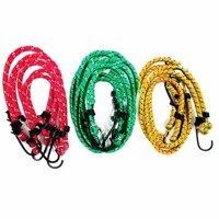 """Wideskall Assorted Size 12"""" 18"""" 24"""" inch Bungee Cords Assortment Set, 30-Pieces"""