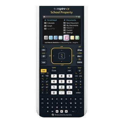 Texas Instruments TI-Nspire CX Handheld Calculator (EZ Spot Teacher Pack) by Texas Instruments
