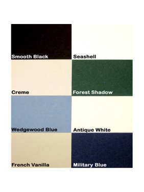 Logan Graphic M100-9 Palette Pre-Cut Mats, Military Blue - 5 X 7