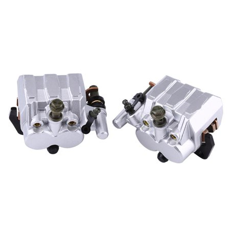 Ejoyous Left & Right Front Brake Caliper Set For Yamaha Rhino 660 2004-2007  450 2006-2009 ATV, Left Front Brake Caliper, Motorcycle Brake Caliper