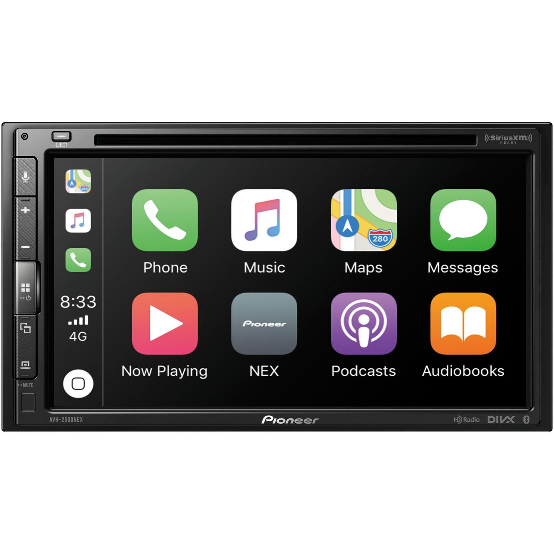 "Pioneer AVH-2500NEX 6.8"" Double-Din In-Dash NEX DVD Receiver With Bluetooth, HD Radio, Apple Carplay, Android Auto & SiriusXM Ready"
