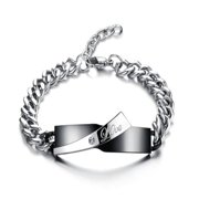 ES Jewel GS702A Stainless Steel Chain Linked Bangle