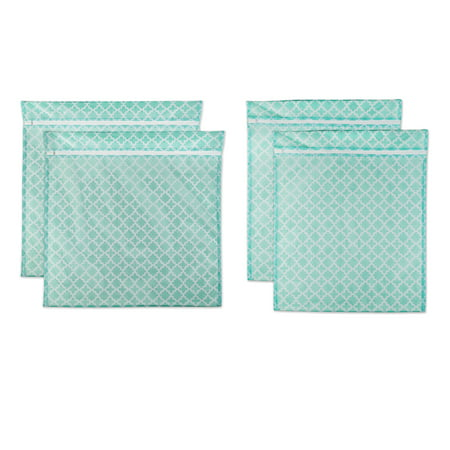 DII Set of 4 Mesh Laundry Bags for Delicates, Bra, Underwear, Hosiery, Stocking, Lingerie, Travel Storage, and Closet Organization - 2 XX-Large & 2 (Cape Design Apparel Online Store)
