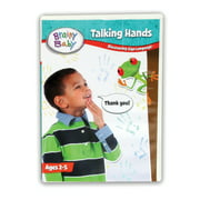 Brainy Baby Teach Your Child Sign Language Talking Hands Discovering Sign Language Deluxe Edition DVD