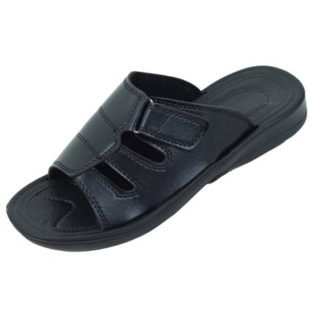 Closed Toe Fisherman Sandal - New Starbay Brand Men's Black Fisherman Open Toe Sandals Size 9