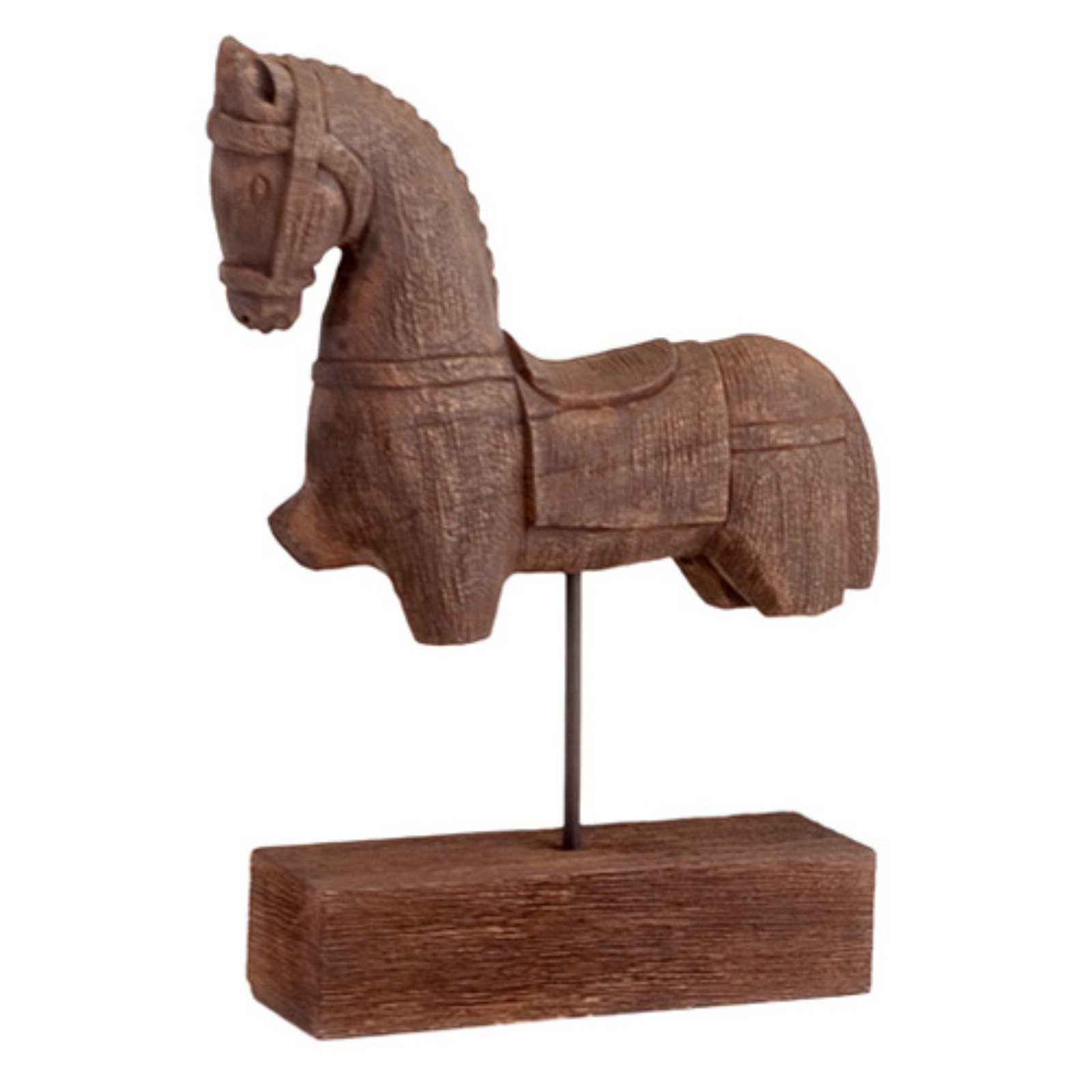 Modern Day Accents Siglo Trojan Horse Sculpture On Stand Walmart Com Walmart Com