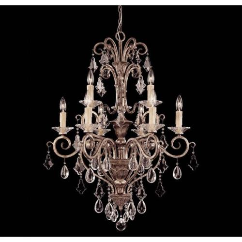 Savoy House Antoinette 9 Light Chandelier in New Mocha