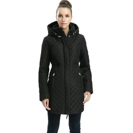 - Women's Angela Waterproof Quilted Parka Coat