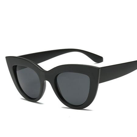 Women Fashion Sunglasses Glasses Retro Eyewear Sun Protection Beach (Beach Eyewear)