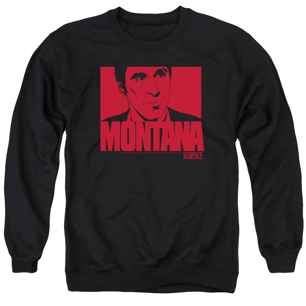 Scarface Montana Face Mens Crewneck Sweatshirt