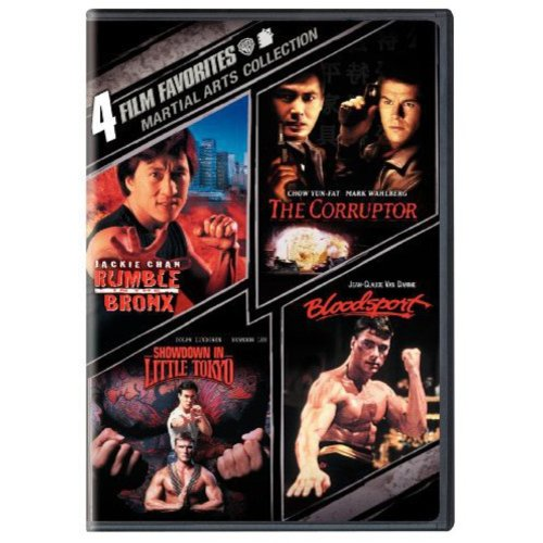 4 Film Favorites: Martial Arts Collection - Rumble In The Bronx / The Corruptor / Showdown In Little Tokyo / Bloodsport (Full Frame, Widescreen)