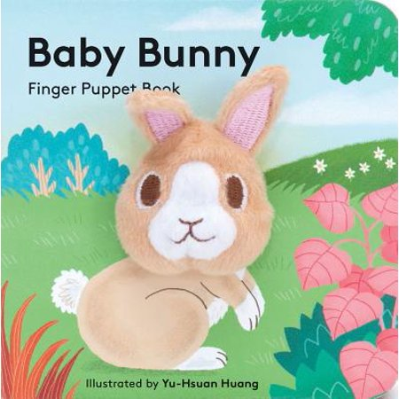 One Little Bunny - Baby Bunny Finger Puppet Book (Board Book)