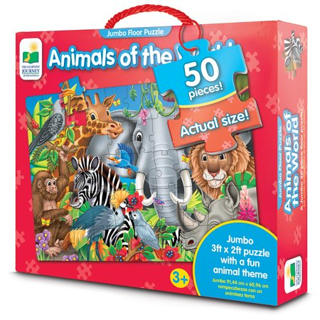 Jumbo Floor Puzzles, Animals of the World