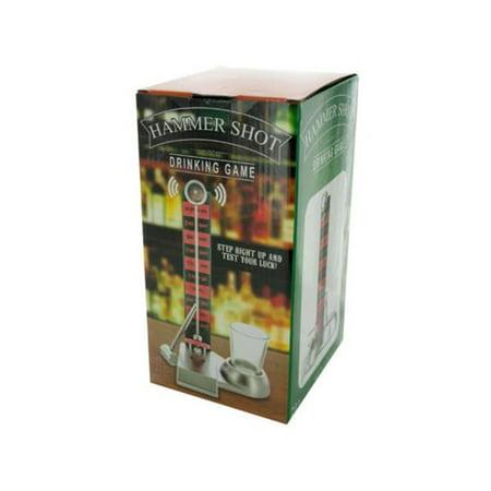 Kole Imports OT076-6 Hammer Shot Drinking Game - Pack of 6