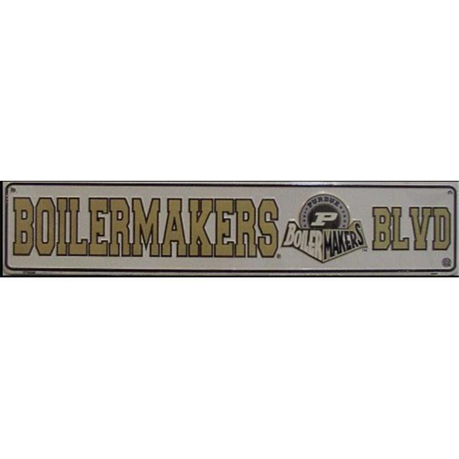 ST - 060 Boilermakers Blvd Boulevard Purdue Street Sign - ST20060