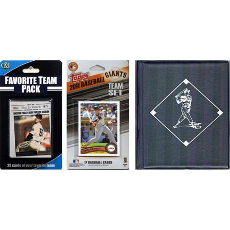Halloween Stores In San Francisco (MLB San Francisco Giants Licensed 2011 Topps® Team Set and Favorite Player Trading Cards Plus Storage)