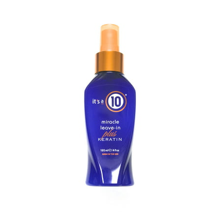 Its A 10 Miracle Leave-In Conditioner Plus Keratin, 4 Oz