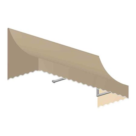 Awntech NT22-US-4T 4.38 ft. Nantucket Window & Entry Awning, Tan - 31 x 24 in. - image 1 of 1