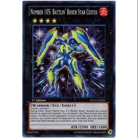 Number 105: Battlin' Boxer Star Cestus LTGY-EN051 Yu-Gi-Oh