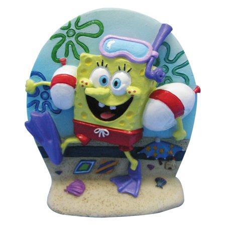 Scuba Tank Accessories - Penn Plax SpongeBob Scuba Diver Aquarium Figure