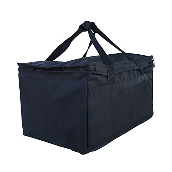 Earthwise Insulated Grocery Food Delivery Bag Heavy Duty Nylon Extra Large Capacity With Insulation Commercial Quality Perfect Warmer Bags To