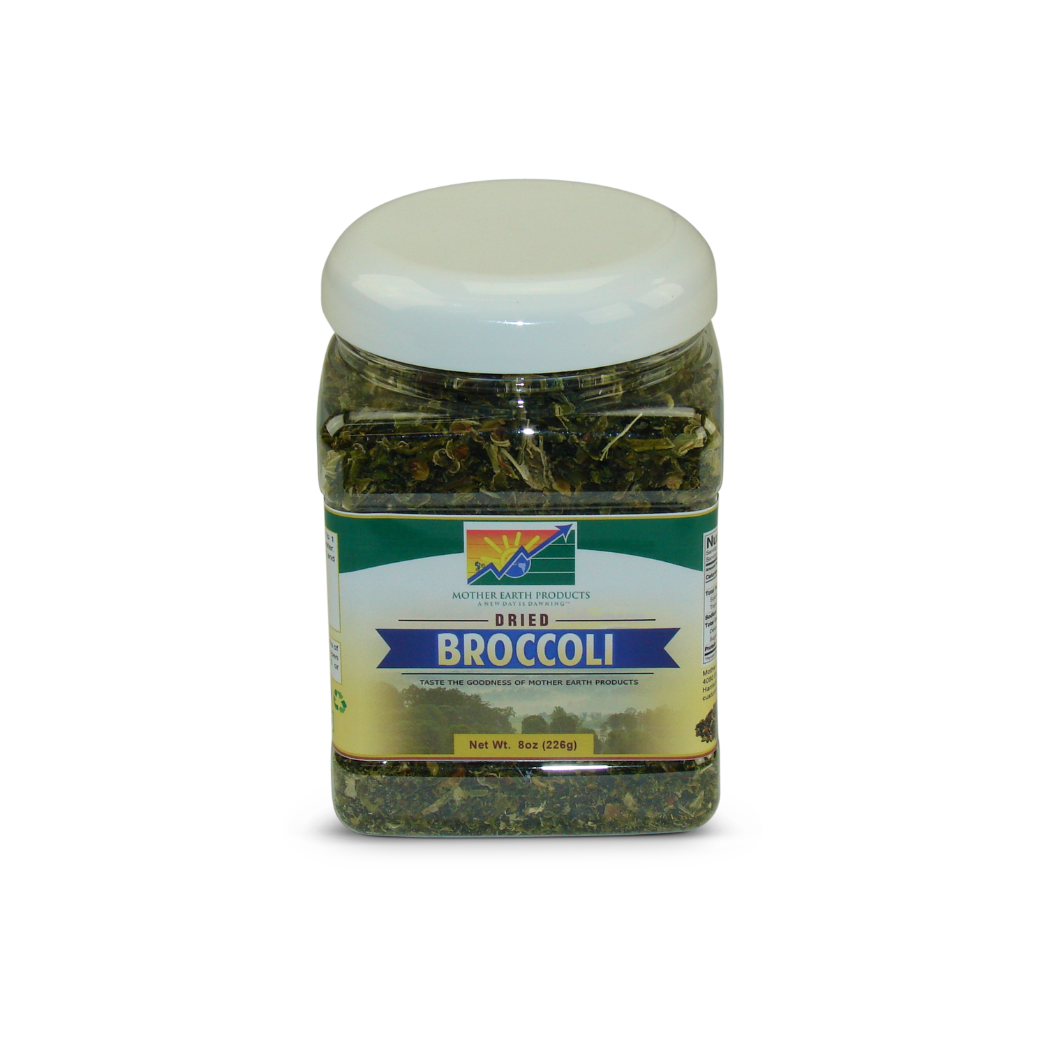 Mother Earth Products Dehydrated Broccoli, jar by Mother Earth Products