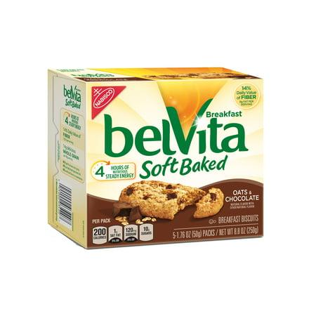 belVita Soft Baked Oats & Chocolate Breakfast Biscuits, 8.8 Oz.
