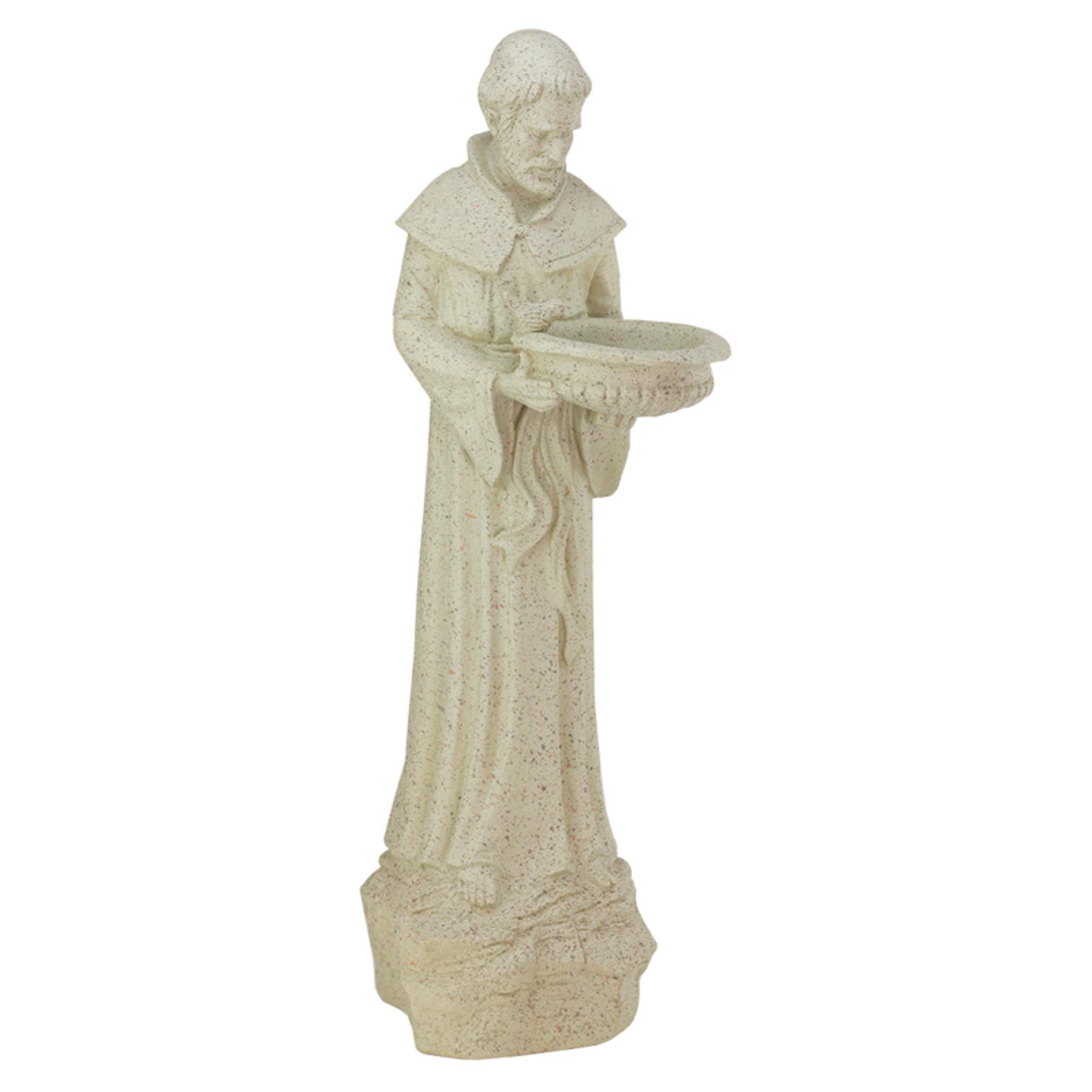 Northlight St. Francis of Assisi Religious Birdfeeder Outdoor Garden Statue by Northlight