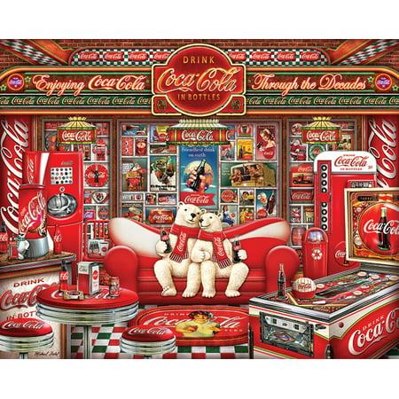 Springbok Coca Cola Decades - 1000 Piece Jigsaw (Coca Cola Jigsaw Puzzle)