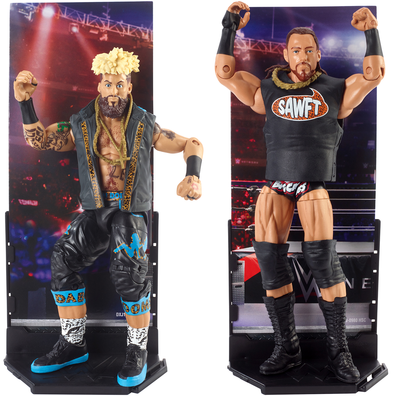 Package Deal Enzo Amore & Big Cass WWE Elite 49 WWE Toy Wrestling Action Figures by