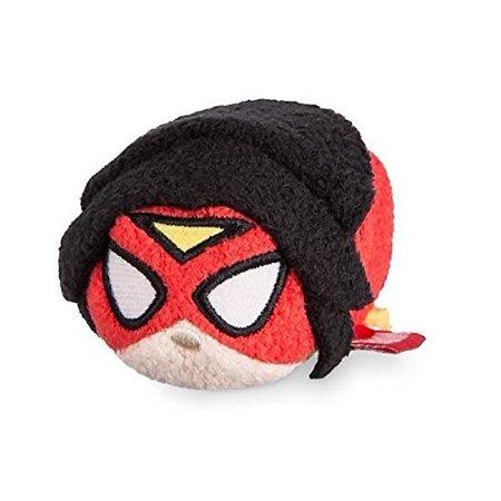 Disney Store Marvel Women of Power Spider Woman Mini Tsum Tsum 3.5 Plush (Westland Stores)