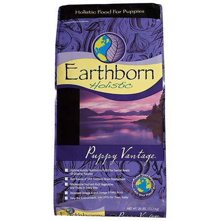 Earthborn Holistic Puppy Vantage Natural Dry Dog Food, 28 Lb