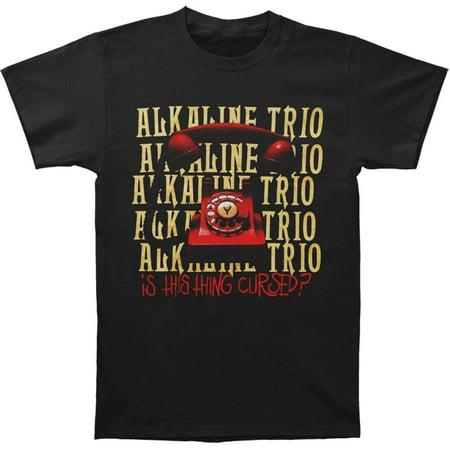 Alkaline Trio Men's  Is This Thing Cursed? Repeater Tee (Black) T-shirt Black - Alkaline Trio Halloween Songs