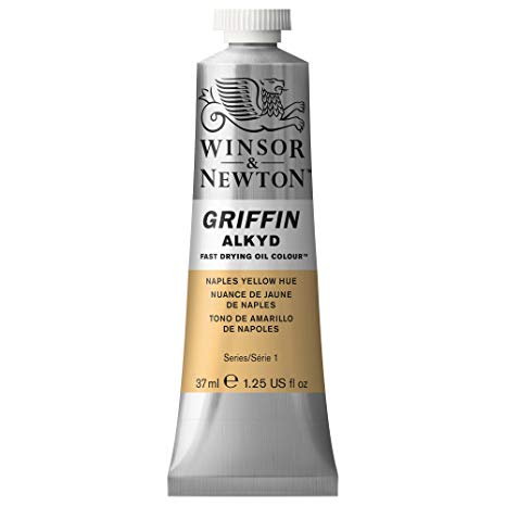 Winsor & Newton - Griffin Alkyd Color - 37ml Tube - Naples Yellow Hue