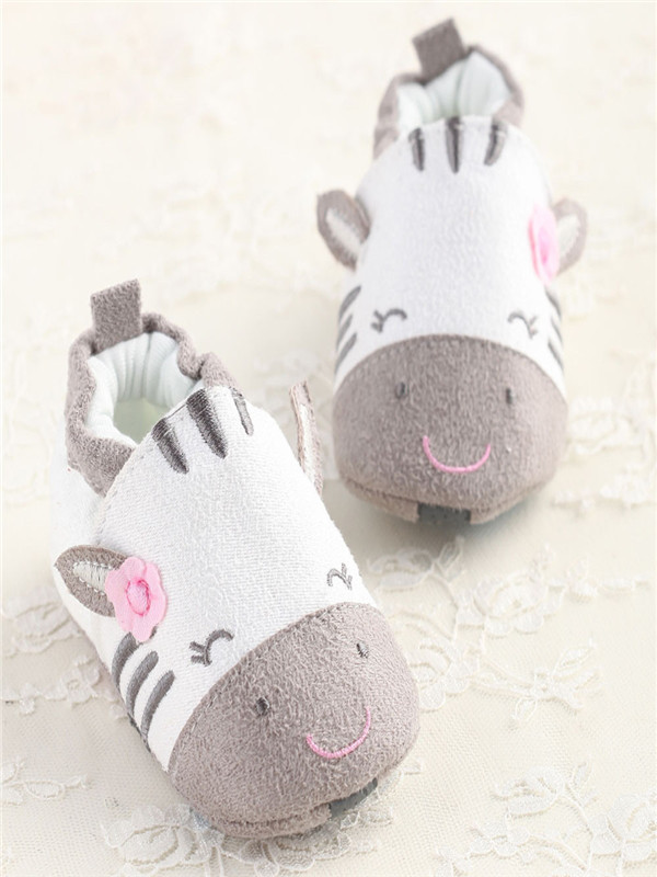 Baby Cartoon Soft Sole Cotton Coth Shoes Infant Boy Girl Toddler Shoes