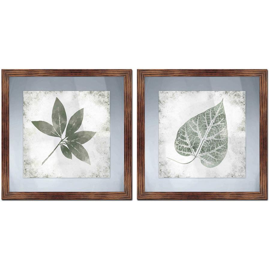 "Leaf Memories Wall Art, 17.5"" x 17.5"", Set of 2"