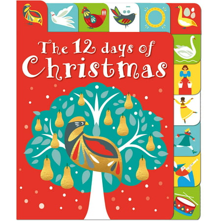 12 Days of Christmas (Board Book) ()