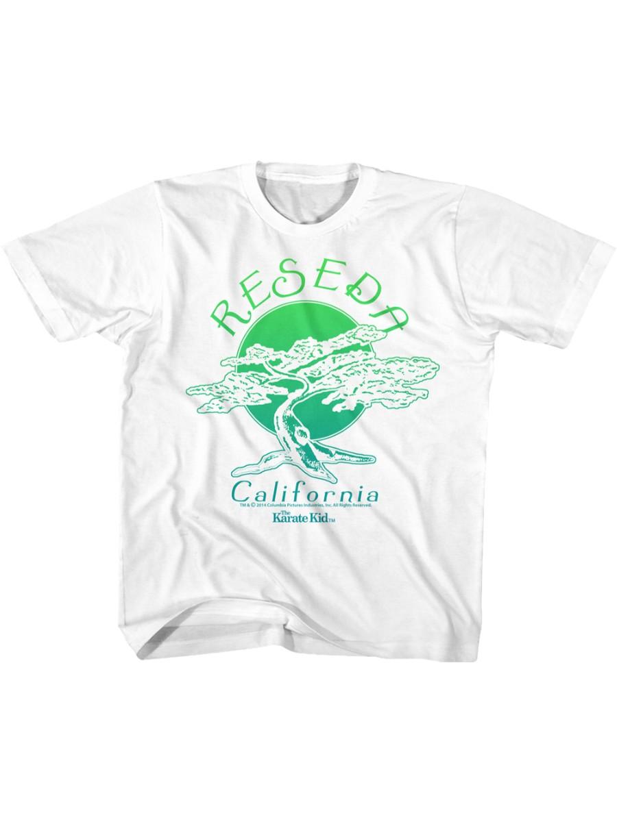 Karate Kid Cali Yellow Toddler T-Shirt Tee
