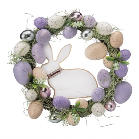 Egg Wreath (Way To Celebrate Easter Egg Wreath,)