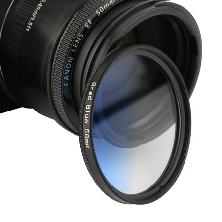 Gradiant Lens - Universal 58mm Filters Circo Mirror Lens Gradient UV For DSLR Camera Lens