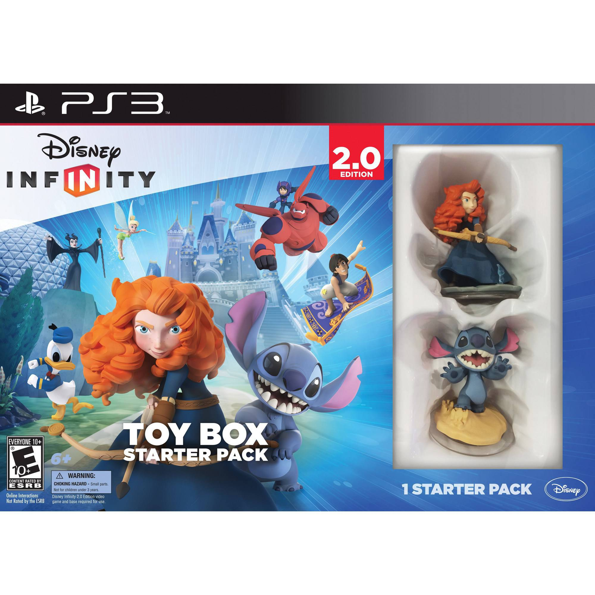 Disney Infinity: Disney Originals (2.0 Edition) Toy Box Starter Pack (PS3)