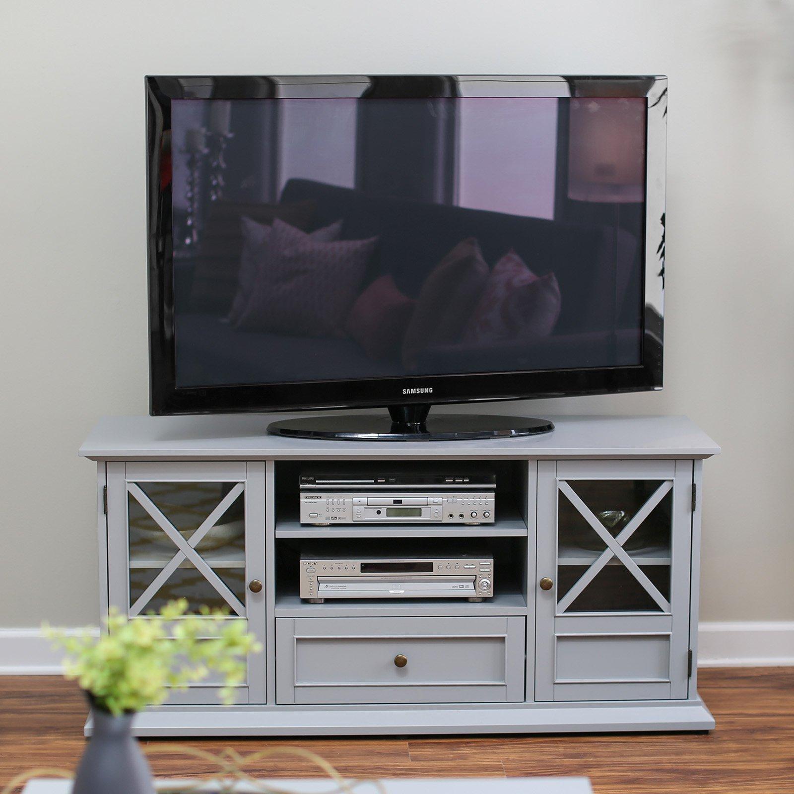 Belham Living Hampton Tv Stand Gray Walmart Com