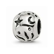 Mia Diamonds 925 Sterling Silver Reflections Sun Moon Stars Bead
