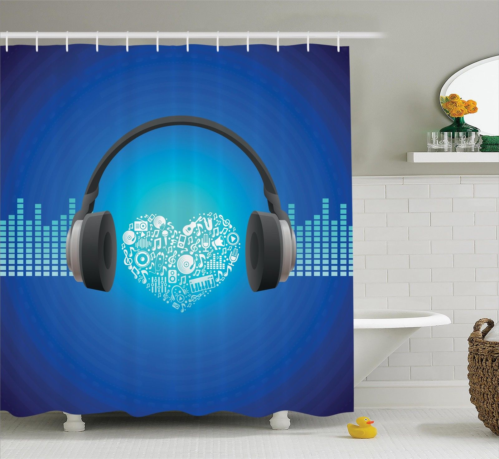 how to listen to music in the shower with headphones