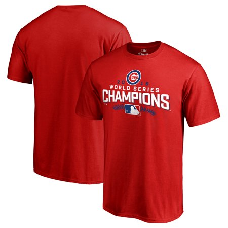 Chicago Cubs 2016 World Series Champions Walk T-Shirt - Red