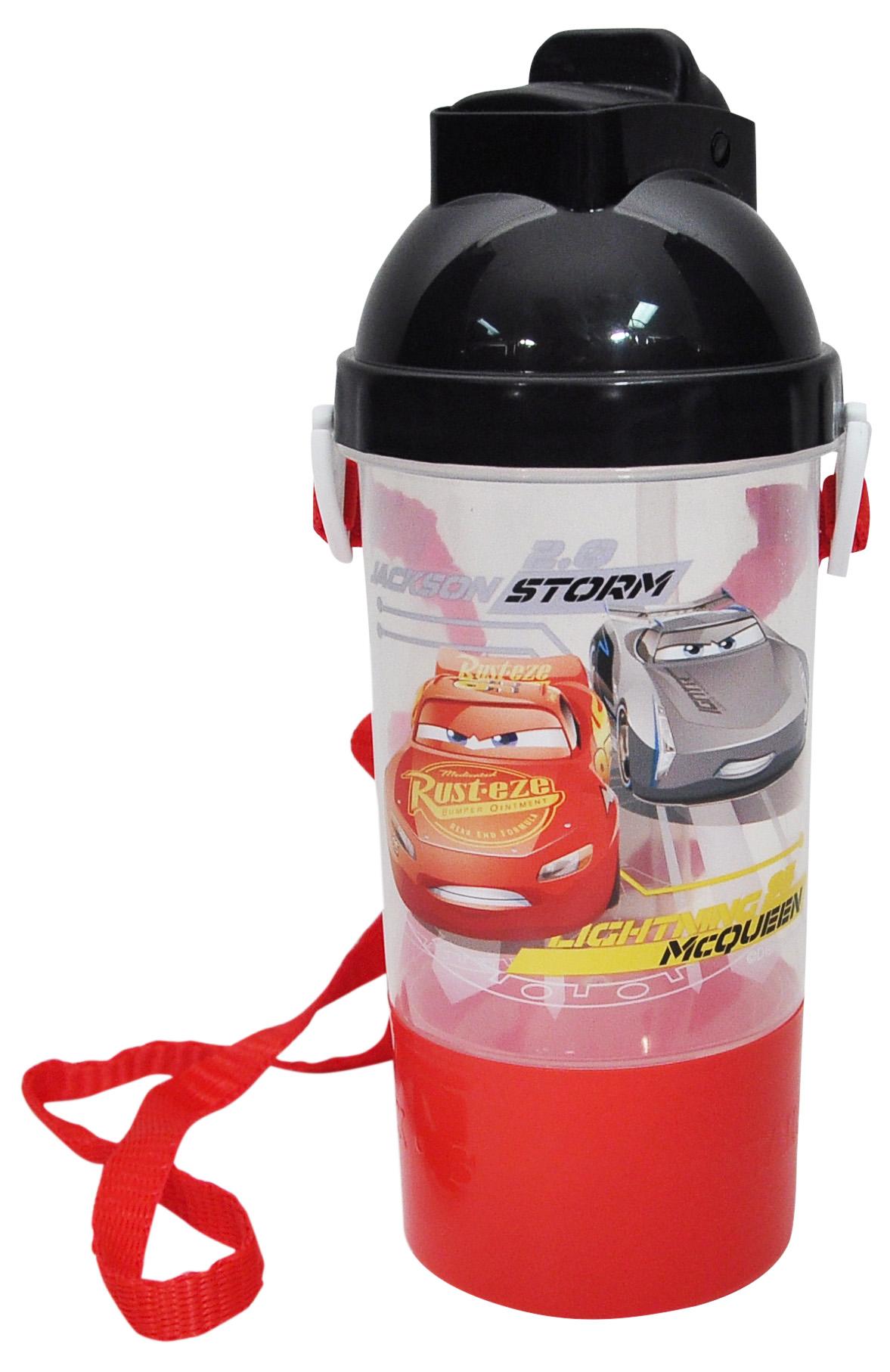 Cars Lightning McQueen Kids Snack & Water Bottle BPA-FREE by ZAK