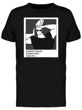 55423e1dd595a0 Product Image Johnny Bravo Screen Test Take  75 Men s T-shirt
