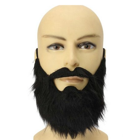 Men Halloween Whiskers Costume Props Whiskers False Full Beard Party - Whiskers Cat Halloween